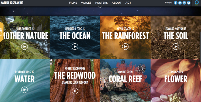 http://natureisspeaking.org/home.html#Films